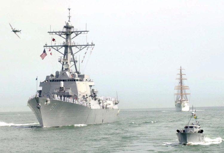 Press Release: USS Winston S  Churchill Arrives in Tallinn