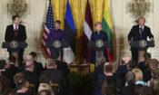 Donald Trump,Kersti Kaljulaid,Raimonds Vejonis,Dalia Grybauskaite