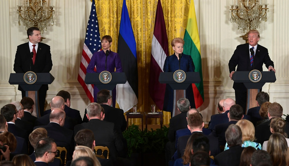 Remarks by President Trump and Heads of the Baltic States in Joint ... b953ba06ab0