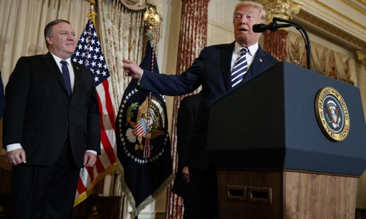 Donald Trump,Mike Pompeo